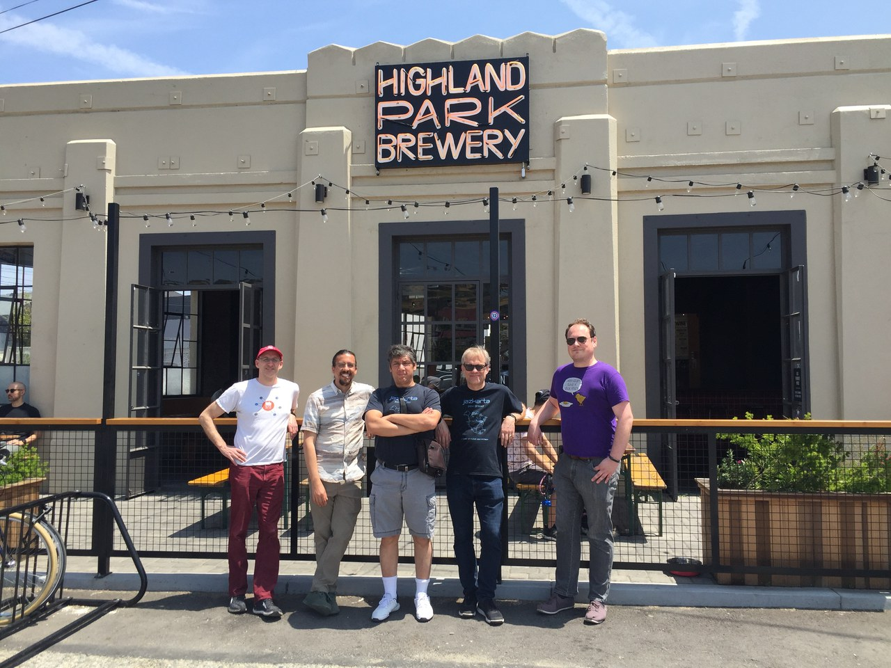 Jazkarta at Highland Park Brewery in LA