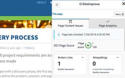 Siteimprove Screenshot