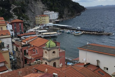 Photo of the Old Harbor in Sorrento, Italy
