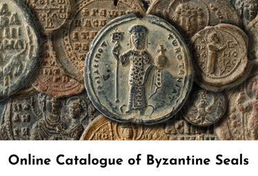 Screenshot of Dumbarton Oaks Byzantine Seals Catalog