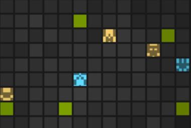 Screenshot of Griduniverse game