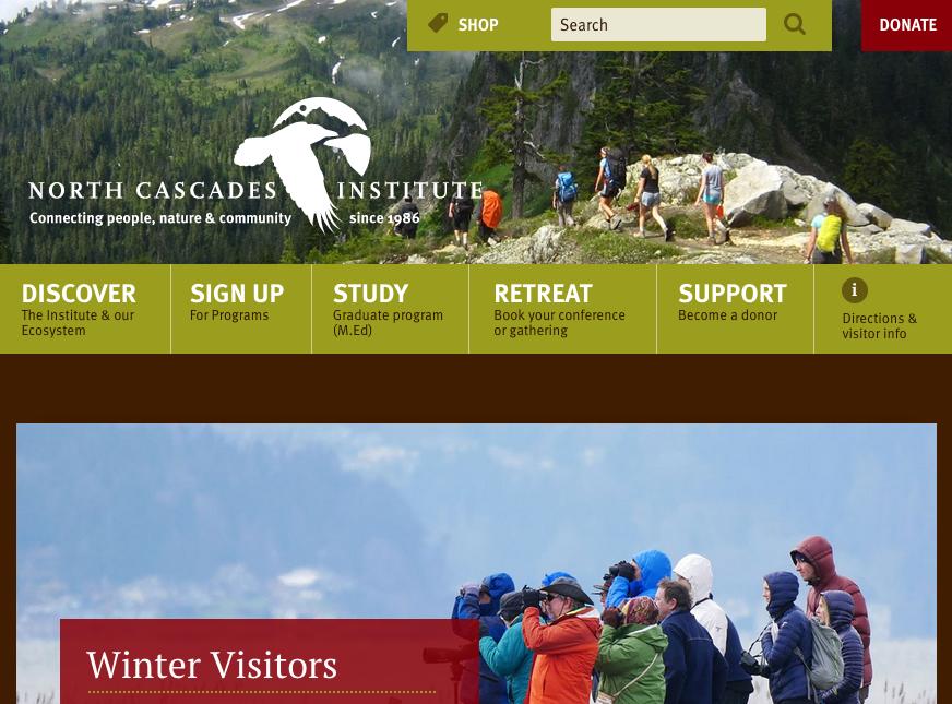 North Cascades Institute Mobile Refresh