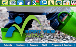 Rocky View Schools Website Infrastructure